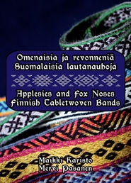 Lautanauhakirjoja / books on tabletwoven bands